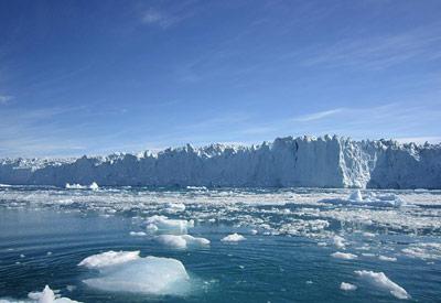 Gletscher in Westgrönland