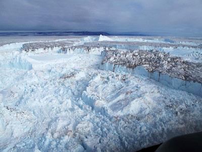 Gletscherfronten in Nordost-Grönland