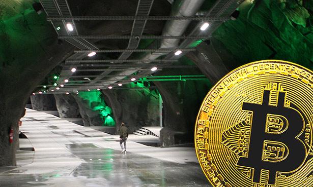 """Bitcoin-Mining geht auch """"grün"""" – unter anderem in einer ehemaligen Mine in Norwegen."""