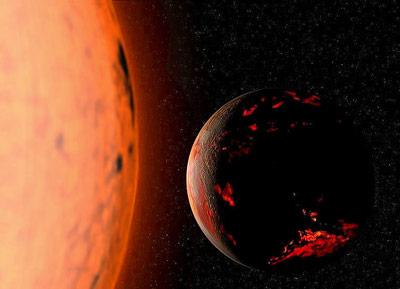 Wenn die Sonne zum Roten Riesen wird, wird auch die Erde glühen.