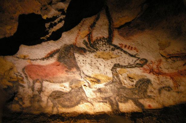 Diese Felsbilder sind Weltkulturerbe: Tierdarstellungen aus der Höhle von Lascaux
