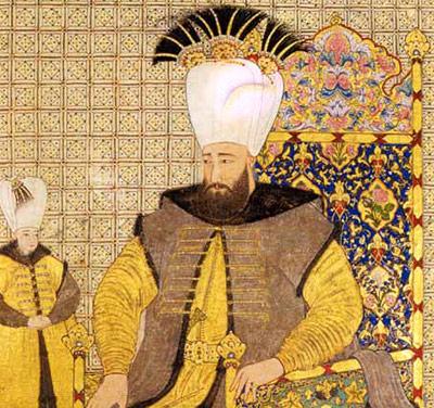 Der osmanische Sultan Achmed III.