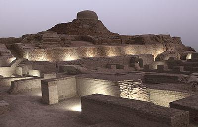 Obwohl sie den Wasserbau beherrschten, wanderten die Indus-Bewohner lieber aus, statt zu bewässern.
