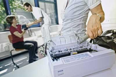 Druckerlärm verrät Inhalt der ausgedruckten Texte
