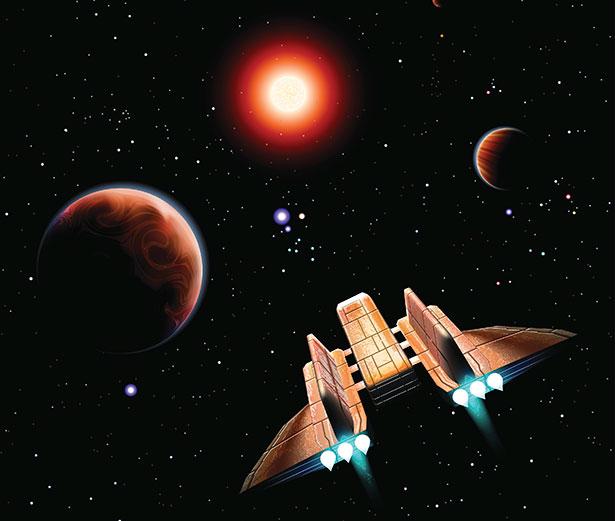 Einen Flug zu unseren stellaren Nachbarn wird es eines Tages wohl geben - die Frage ist nur wann.