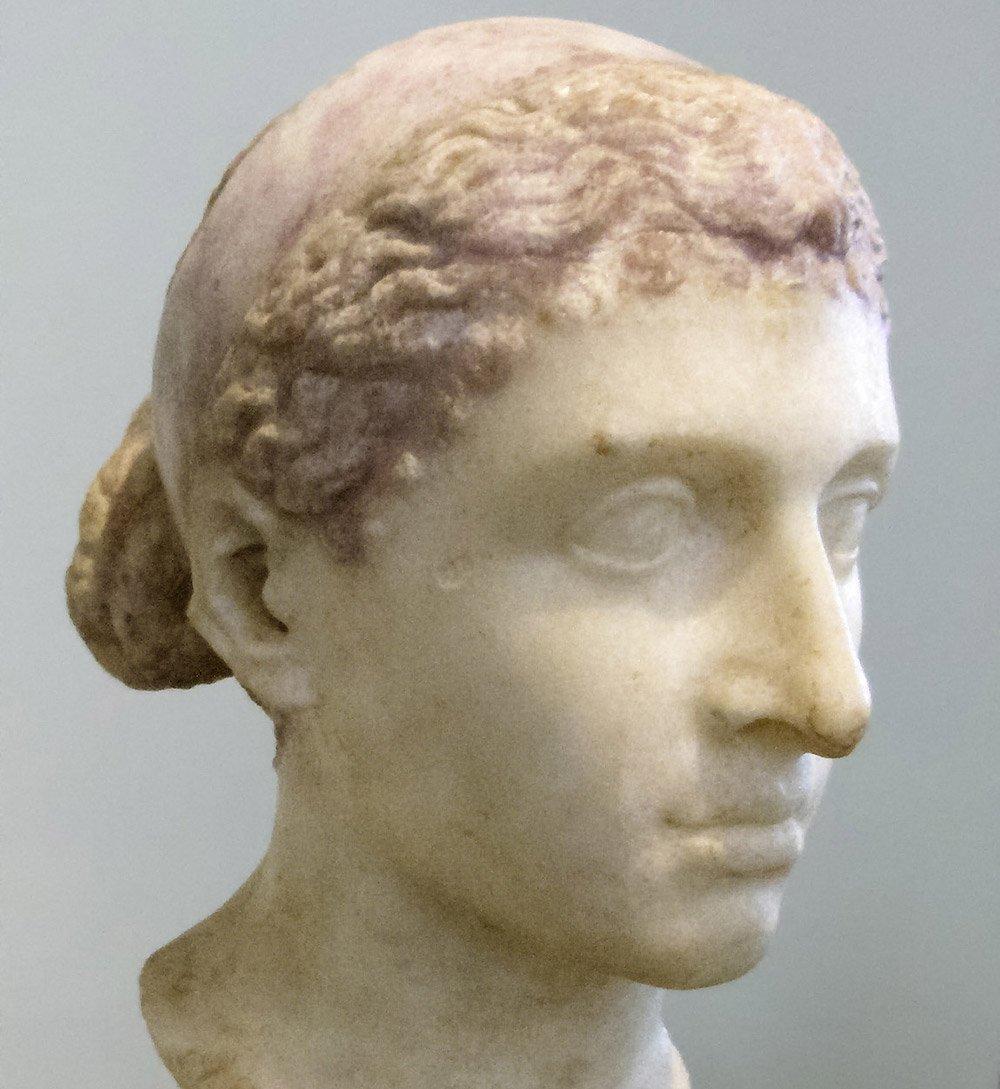 """Kleopatra war, wie die gesamte Dynastie der Ptolemäer, keine reine Ägypterin, sondern makedonischer Herkunft.<span class=""""img-copyright"""">© Louis le Grand/ Altes Museum Berlin</span>"""