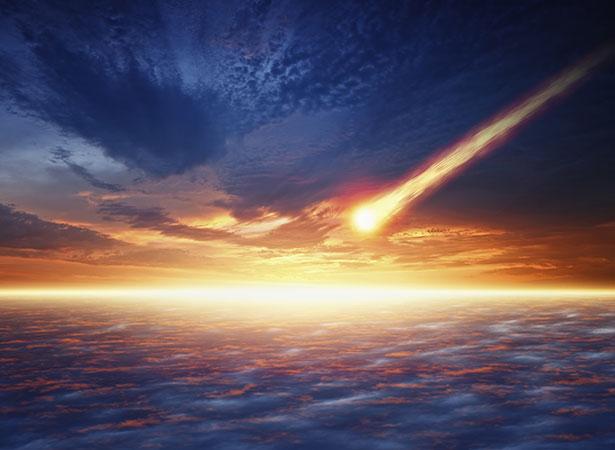 """Kometen brachten vielleicht nicht nur Lebensbausteine zur Erde, sie schufen dort auch """"Wiegen des Lebens""""."""