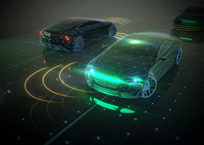 """<span class=""""img-caption"""">Autonome Autos könnten bei einem drohenden Unfall vor einem moralischen Dilemma stehen.</span> <span class=""""img-copyright"""">© JustSuper/ iStock</span>"""