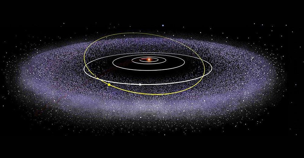 Der Kuipergürtel am Rand unseres Sonnensystems birgt noch viele Geheimnisse. © NASA