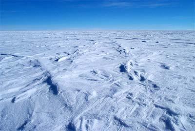 Eis über dem Wostok-See