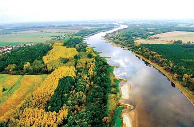 Die Elbe - ein kultivierter Fluss