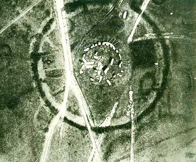 Stonehenge 1906, Aufnahme von Sharpe
