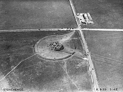 Stonehenge in den 20er Jahren, Aufnahme von George Allen