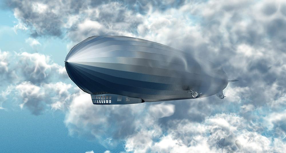 Die große Ära der Luftschiffe scheint lange vorbei – doch Zeppelin und Co könnten ein Comeback erleben © MR1805/ iStock