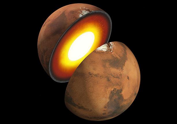 Wie sieht es im Inneren des Mars aus? Genau diese Frage soll die Landesonde Mars InSight nun klären.
