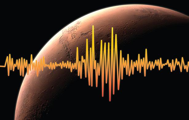 Erdbebenwellen verraten, wie das Innere eines Planeten beschaffen ist.