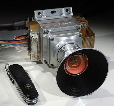 Kommt doch nicht zum EInsatz: die MARDI-Kamera