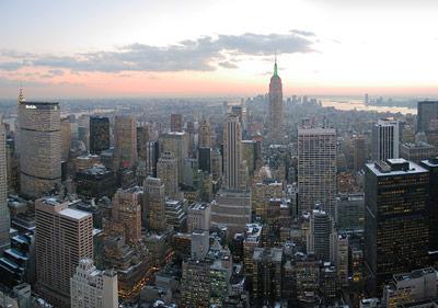 New York: Ballungsräume wie dieser erzeugen große Mengen Abwärme