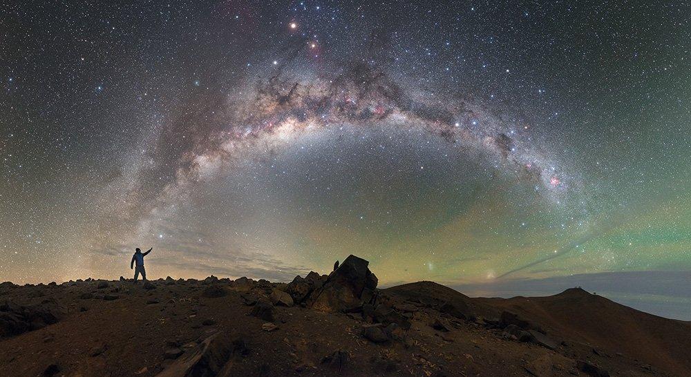 "Unsere Milchstraße prangt als prachtvolles Sternenband am Himmel – trotzdem ist sie noch lange nicht komplett erforscht. © P. Horálek/ ESO, <a href=""https://creativecommons.org/licenses/by-sa/4.0"" target=""_blank"" rel=""noopener noreferrer""> CC-by-sa 4.0 </a>"