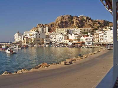 Hafen von Karpathos Stadt heute
