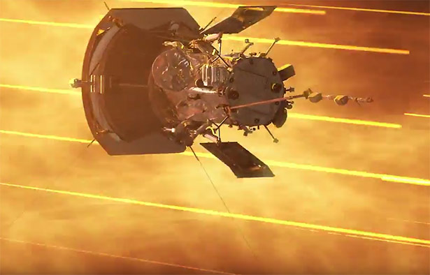 Die Plasmateilchen der Sonnenkoroona haben zwar eine hohe Temperastur, aber nur eine geringe Dichte.