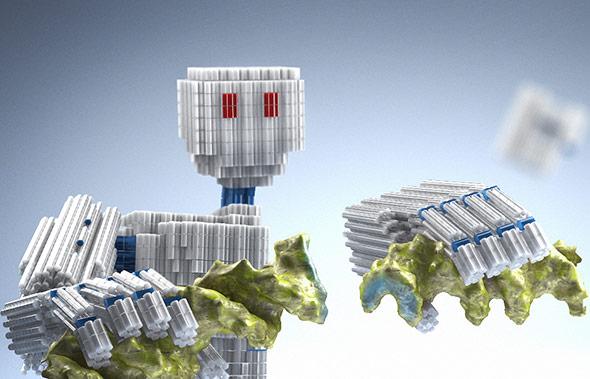 DNA ist ein gut geeigneter Baustein für Nanoroboter und -maschinen.