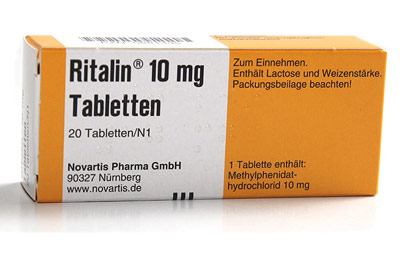 ADHS-Medikament Ritalin (Methylphenidat)