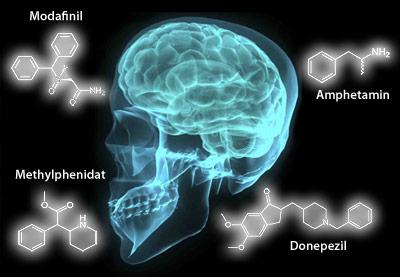 Typische Wirkstoffe, die als Neuro-Enhancer genutzt werde