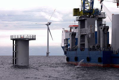 Plattform für eine Offshore-Anlage