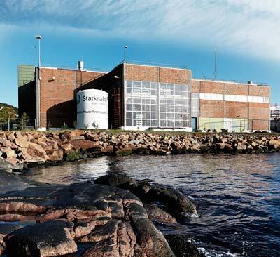 Das erste Osmose-Kraftwerk in Tofte