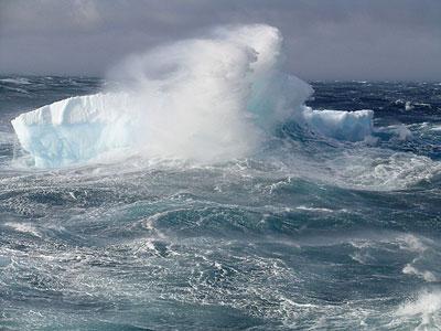 Harte Bedingungen im Südpolarmeer.