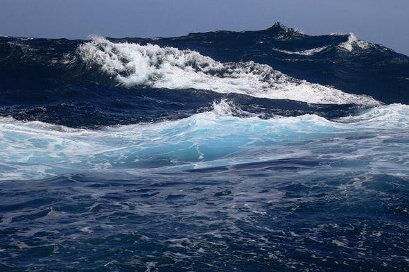 Das Südpolarmeer spielt eine wichtige Rolle für den Austausch des Treibhausgases Kohlendioxid zwischen Ozean und Atmosphäre.