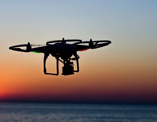 Die neue Radartechnik könnte eines Tages in Drohnen integriert werden.