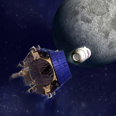 Centaurrakete und LCROSS-Sonde