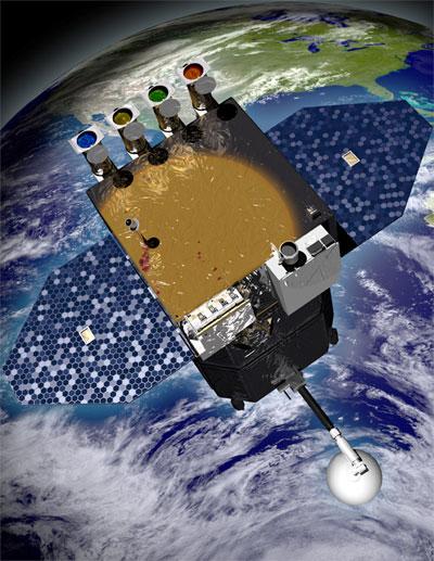 Raumsonde Solar Dynamics Observatory (SDO)