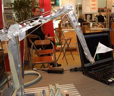 Elastischer Roboterarm