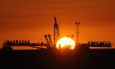 Startrampe 1 im Kosmodrom Tjuratam (heute Baikonur).