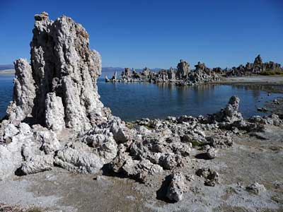 Kalktuff-Formationen am Mono Lake
