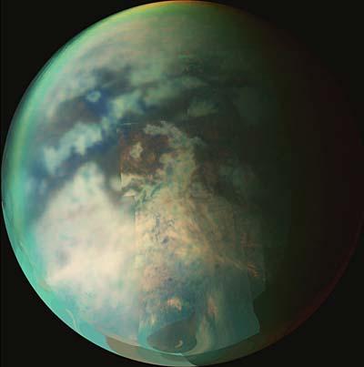 Titan - Saturnmond mit Kohlenwasserstoffgewässern