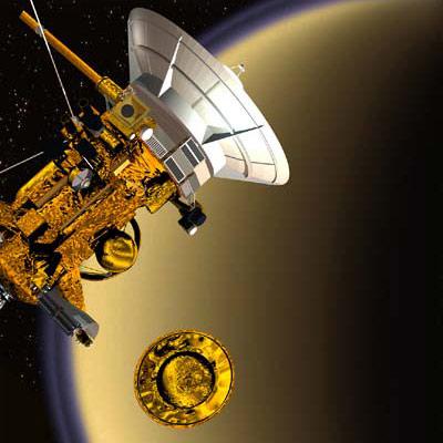 Cassini und Huygens