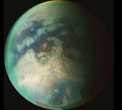 Oberfläches des Titans