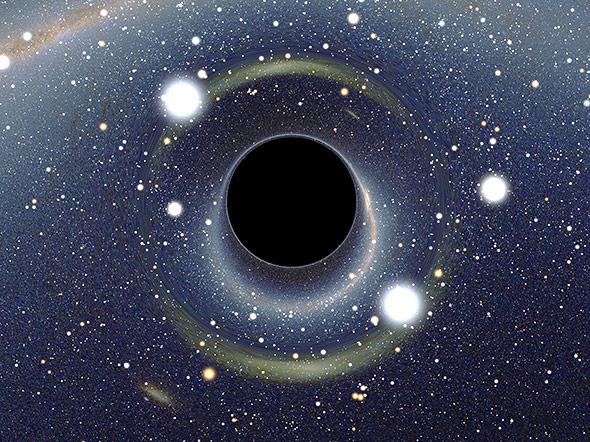 Schwarzes Loch: Gibt es doch eine Wiederkehr für eingesaugte Information?