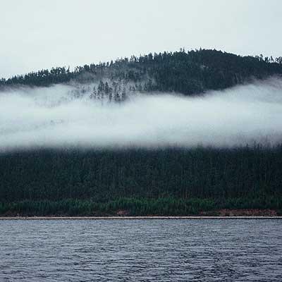 Bedrohte Schönheit Baikalsee
