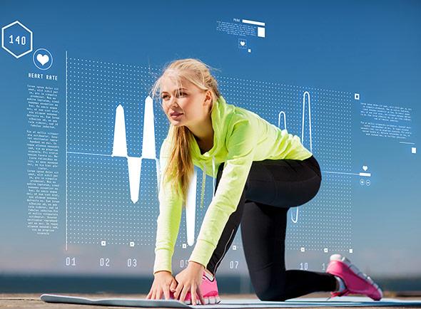 Self-Tracking per Sensorarmband oder Handy liegen im Trend