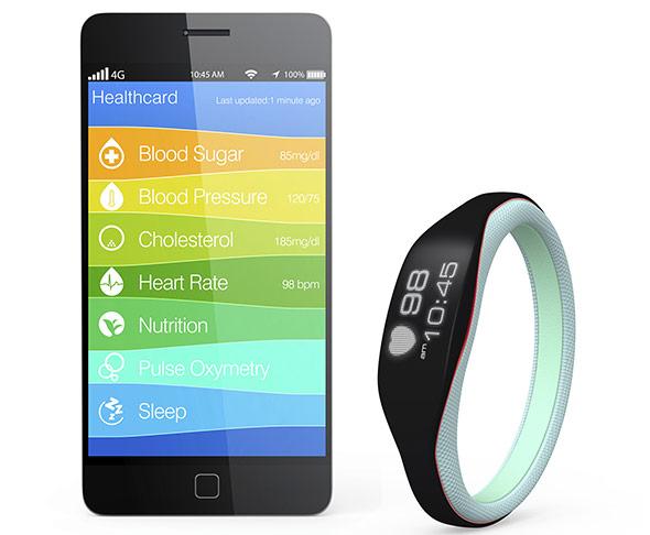 Self-Tracking-Apps und Sensoren zeichnen verschiedenste Parameter auf.