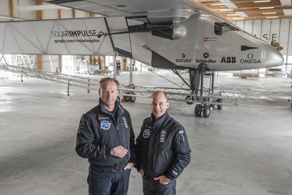 Bertrand Piccard und André Borschberg sind die Initiatoren und Piloten von Solar Impulse.