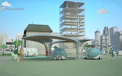 Nur noch leise E-Autos ohne Abgase - eine Vision für die städtische Zukunft?