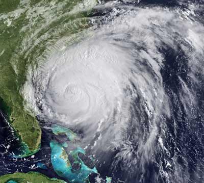 """Hurrikan """"Irene"""" vor der US-Ostküste"""