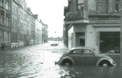 Sturmflut 1962 in Hamburg