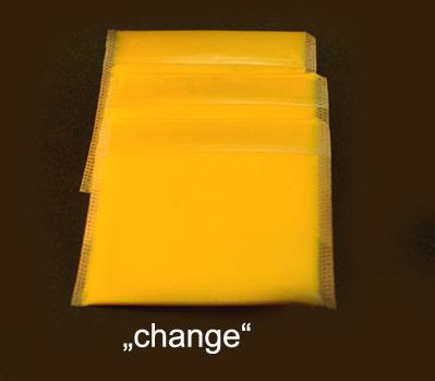 """Das Wort Wechselgeld, englisch """"change"""", erweckt bei Wannerton den Geschmack von Schmelzkäse"""